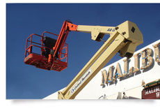 signage installation services