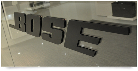 3d Lettering To Glass 3 Dimensional Lettering Applied To