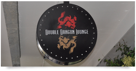 round light box sign with led's for a gaming room