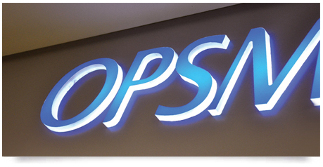 Light Boxes With Push Through Style Lettering Signs Sydney