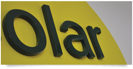 gloss 2 pack painted sign