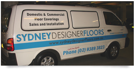 van signs designed and produced by iSpace