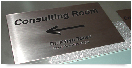 Laser Cut Metal Signs >> Stainless Steel Plaques : Plaque Stainless Steel : Engraved Signs